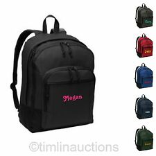 Personalized Monogrammed Laptop Back to School Backpack Book Bag Boys / Girls
