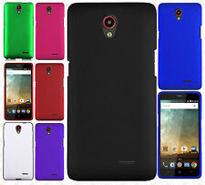 For Cricket ZTE Sonata 3 Z832 Rubberized Hard Protector Case Snap on Phone Cover