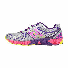 New Balance Womens Running Course Grey Pink Synthetic Athletic Running Shoes 8.5