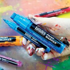 Liquitex Professional Paint Markers 15mm & 2mm Nib Sets - Acrylic Markers
