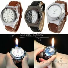 USB Cigarette Rechargeable Windproof Ciga Lighter Watches,Gas Cigarette Lighter