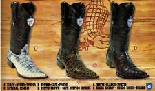 Wild West Men's Pointed XXX-Toe Caiman Belly Cowboy Western Boots Diff. Colors