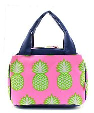 Pineapple Insulated Lunch Tote Bag-- Lunch Bag-Back to school Must have!