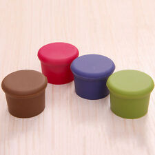 1/2/5X Wine Beer Plug Cap Bottle Cork Silicone Seal Bottle Stopper Gadget EFUS