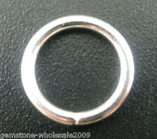 Wholesale Mixed Lots Silver Plated Open Jump Rings 12x1.5mm