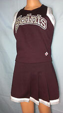 "Cheerleader Uniform Halloween Costume Fancy Saints top 26"" 34"""