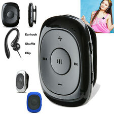 USB 8GB Sport MP3 Media Clip On Rechargeable Music Player+free Earhook Headphone