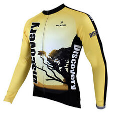 Tree Men Long Sleeve Cycling Jersey Bike Bicycle Sportwear Apparel Rider CX08