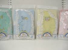 Wonderful Memories Baby Embroidery Diaper Stacker - Blue Pink Green Yellow NEW