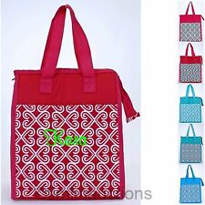 Insulated Lunch Sack Box Tote Bag Personalized Monogram