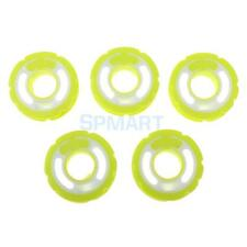 5Pcs High Quality Silicone Round Single Groove Spool for Fishing Hook New