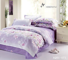 100%Cotton Rose Doona Duvet Quilt Cover Set Double/Queen/King Size Bed Cover New