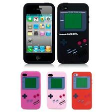Gameboy Retro Soft Back Silicone Gel Pattern Case Cover for iPhone 4 & 4s *SALE*