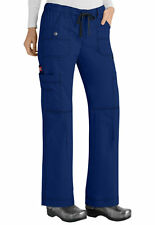 Dickies Medical Scrubs Women's Gen Flex Galaxy Blue Cargo Pant Sz XS-XXL NWT