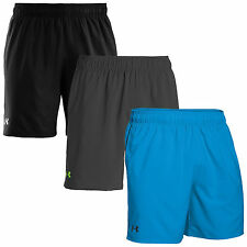 "UNDER ARMOUR MENS HEATGEAR MIRAGE 8"" GYM SHORTS - NEW UA TRAINING RUNNING 2016"