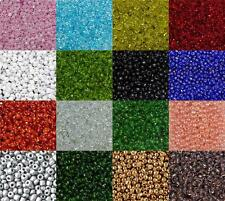 50g Glass Seed Beads - Size 6/0 - Approx 4mm - Jewellery Making - Rocailles