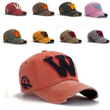 Unisex Women Men Baseball Cap Trucker Sport Snapback Hip-hop Hats Adjustable New