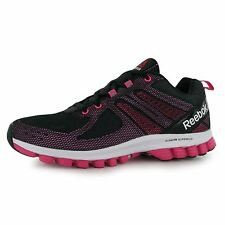 Reebok SubLite SuperDuo 2 Running Shoes Womens Black/Pink Run Trainers Sneakers