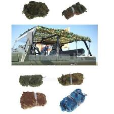 Camo Net Camouflage Netting Military Woodland Jungle Hunting/Shooting Hide Cover