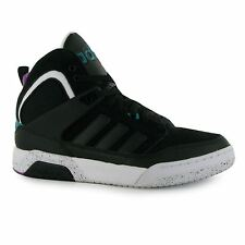 Adidas CTX 9TIS Mid Trainers Mens Black/White/Green Casual Sneakers Shoes