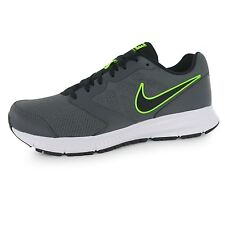 Nike Downshifter 6 Training Shoes Mens Grey/Black/Green Sports Trainers Sneakers