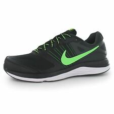 Nike Dual Fusion X Running Shoes Mens Black/Green Fitness Trainers Sneakers
