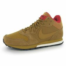 Nike MD Runner Mid Trainers Mens Beige/Wheat Casual Sneakers Shoes Footwear