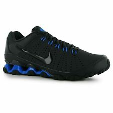 Nike Reax 9 Training Shoes Mens Grey/Blue Sports Fitness Trainers Sneakers