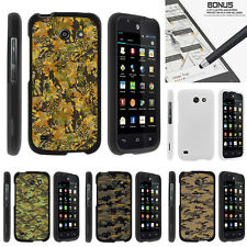 For Huawei Tribute | Fusion 3 Y536A1 Case Hard Snap On 2 Piece Digital Camo