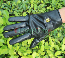 Man's Motorcycle Bike Bicycle Cycling Sports Plus Velvet Warm Gloves Full Finger
