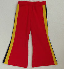 1960s childrens bell bottom trousers FLARED Age 3 6 years UNUSED VINTAGE washed