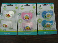 New Disney Dummies Pacifiers Soothers Tigger or Winnie the Pooh
