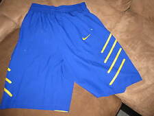 NEW Nike Kobe Bryant Basketball Shorts Size XL Blue/Yellow Black Mamba