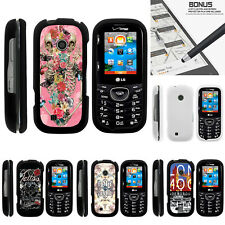 For LG Cosmos 3 VN251S Case Hard Snap On 2 Piece Slim Shell Indie Designs