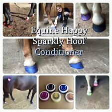 Equine Happy Sparkly Hoof Conditioner- 50ml hoof oil pony horse