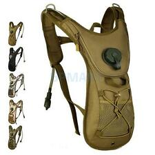 2.5L Bicycle Cycling Rucksack Backpack Hydration Pack Camo Water Bladder Bag