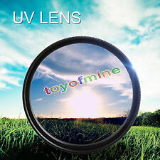 52-82mm UV Ultra-Violet Filter Lens Protector For Camera Canon DSLR/SLR/DC/DV