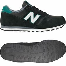 NEW BALANCE TRAINERS 373 BLACK GREEN SNEAKERS SHOES RUNNING 7 8 9 10 11 CASUALS