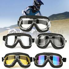Motorcycle Goggles Motorbike Flying Scooter Helmet Glasses Goggle Anti UV Wind
