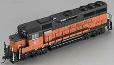 Bachmann 60308 HO Scale DCC Equipped GP40 Diesel Locomotive Milwaukee Road #2001