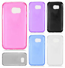 For Samsung Galaxy S7 Active Frosted TPU CANDY Gel Flexi Skin Case Phone Cover
