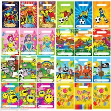 Party Fun Loot Gift Theme Treat Bags Candy Childrens Birthday Favour Sweet Bags