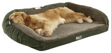 Orvis Faux-fur Deep Dish Dog Bed With Memory Foam / Small Dogs Up To 40 Lbs.