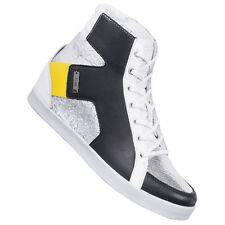 adidas SILVER Kitt women's High-Top Sneaker Q21999 Sneakers Leisure Shoes new