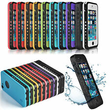 Fingerprint Waterproof Shockproof life proof Case Cover For iPhone 5 &5S From US