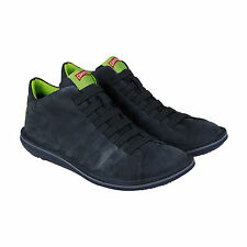 Camper Beetle Mens Gray Leather Lace Up Sneakers Shoes