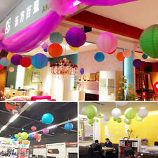 New colorful Chinese paper Lantern Wedding Prom Party Home Decoration 10 pcs