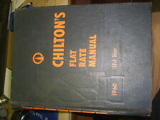 Chilton's chilton chiltons auto repair manual 1960 31st year