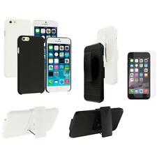 For Apple iPhone 6 (4.7) Belt Clip Holster Case+Anti Glare Screen Protector