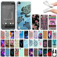 For HTC Desire 530 630 Various Pattern TPU SILICONE Soft Rubber Flexi Case Cover